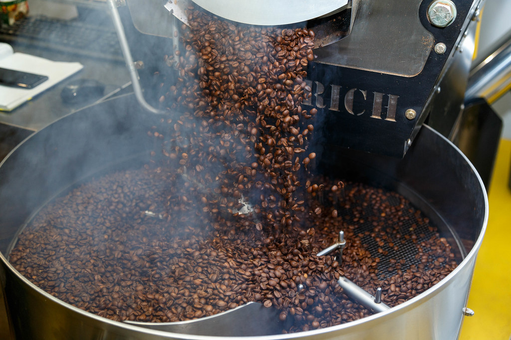 a coffee roaster machine