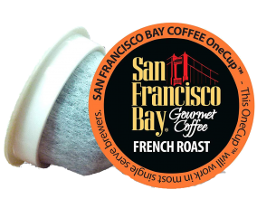 SF Bay Coffee OneCup French Roast png